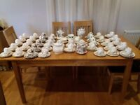 Vintage China Tea Set Collection/Tea Shop/Wedding