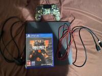 Ps4 Slim + controller + 5 games