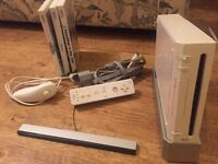 WII bundle, wii, controllers and games