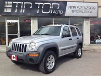2002 Jeep Liberty Sport *** Low Kms, 4X4, V6, Great Condition **