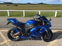 Kawasaki zx6r, years MOT, great condition and ready to ride