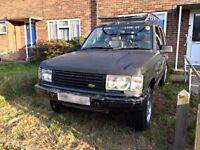 Land Rover Range Rover P38 4.6 HSE with LPG. Real off road toy.