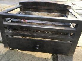 Fire grate and ash pan