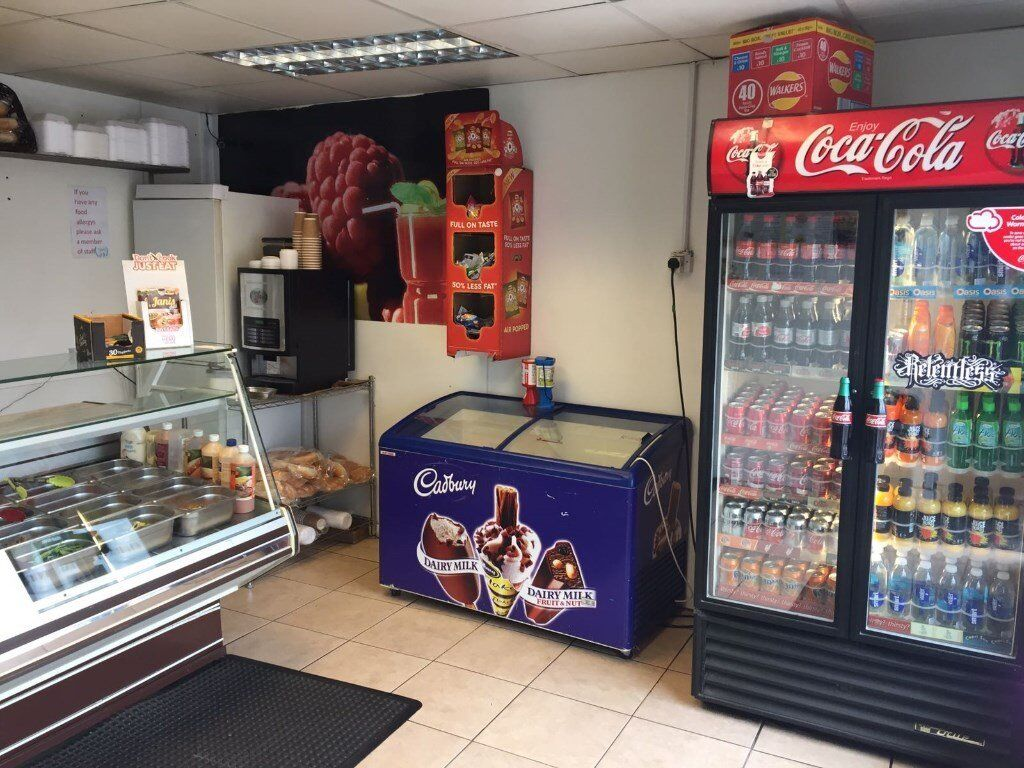 Hot Food Take Away Shop In Durham City Centre In Durham County