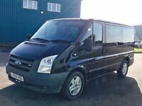 FORD TRANSIT TOURNEO 'GLX EDITION' (2008) '2.2 TDCI - 9 SEATER BUS - AIR CON ' *HUGE SPEC* (NO VAT)
