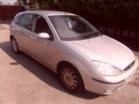 ford focus 1.6 ghia 5 door hatchback new clutch just fitted