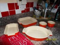 Le Cruset dishes