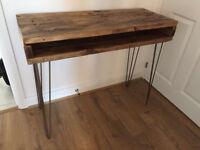 Solid Wood Desk/Side Table