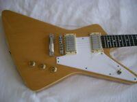 Hamer XT series Standard electric guitar - Limited Edition Korina - Seymour Duncans - New old stock