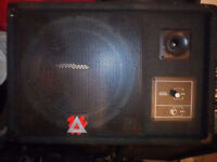 Peavey Wedge Stage Monitor speaker Eurosys 12M passive front of house
