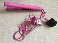 Pink FHI straighteners boxed