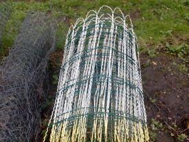 Garden edging fencing