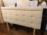 Headboard for double divan bed