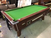 Omega 6x4 Coin Mechanism Pool Table