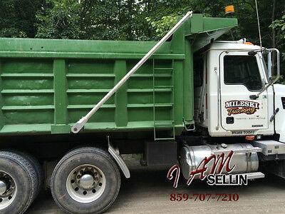 TERMINATOR Dump Truck Electric Tarp Kit UNBREAKABLE Alum Arms 4 spring 23' aero