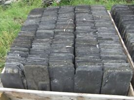 Welsh slates, from old barn roof