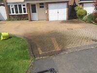 Driveway cleaned
