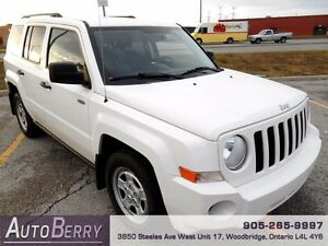 2009 Jeep Patriot North 4WD *** Certified and E-Tested ***