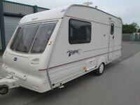 BAILEY PAGEANT IMPERIAL 1999 TWO BERTH TOURING CARAVAN FULLY EQUIPPED INCLUDING MOTORMOVER !