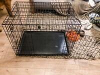 Large/ XL foldable pet cage for sales for transport vet etc