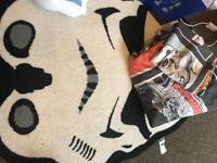 Star Wars duvet cover and rug