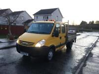 2010 IVECO DAILY DOUBLECAB PICKUP##83K MILES##