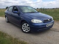 2002 VAUXHALL ASTRA LS 1.7 DTI 12 MONTHS MOT.ONLY £30 PER YEAR ROAD TAX
