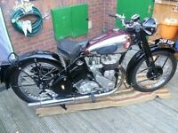 WANTED OLD BRITISH MOTORCYCLES