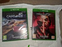 Xbox One Games - Project Cars 2 & Tekken 7 (sealed boxes). Price for both.