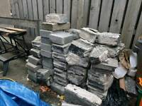 Free breeze blocks or rubble for infill