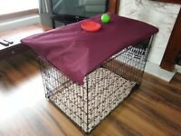 As New XL Dog Crate and Bed