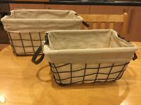 Lovely storage basket set