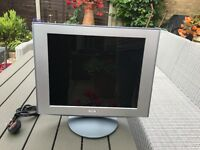 Sony colour computer display monitor