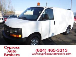 2010 Chevrolet Express 1500 Loaded including Shelving
