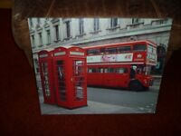 London bus canvases