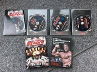 Raw dvd and Arnold Schwarzenegger's dvd