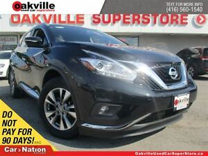 2015 Nissan Murano SL | AWD | LEATHER | SUNROOF | NAVI | 360 CAM