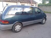 Toyota previa 1997 2.4 automatic 8 seater people carrier export