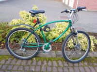 'Ultra Collectable' Pashley XCB Land-Rover Special Edition Cycle.