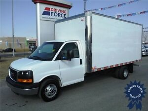 2015 GMC Savana 16ft Cube Van - CVIP Inspected - 20,354 KM