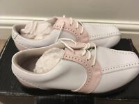 Women's Footjoy golf shoes size 4