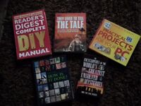 5 help books etc RRP: £87.99 DIY, Practical PC Projects etc