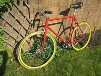 Peugeot Single Speed Lightweight Bicycle