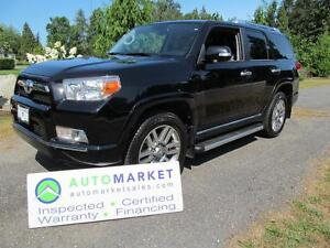 2013 Toyota 4Runner $348 Bi-Weekly, Limited, 7Pass, Nav, 4x4