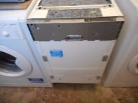 Beko Slimline Integrated Dishwasher DIS15010