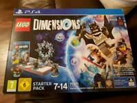 Lego dimensions starter park with super girl bonus character