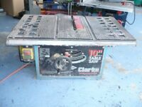 Clarke Woodworker 10 inch Table Saw