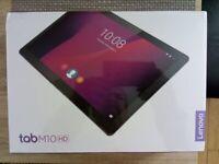 Lenovo Tab M10 10.1 Inch HD Tablet/BLACK/ BRAND NEW STILL IN SEALED BOX