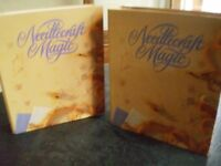 2 folders with hundred of inserts on Needlecraft Magic