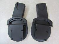 Car seat adaptors for Maxi Cosi seat and Mamas & Papas Sola buggy